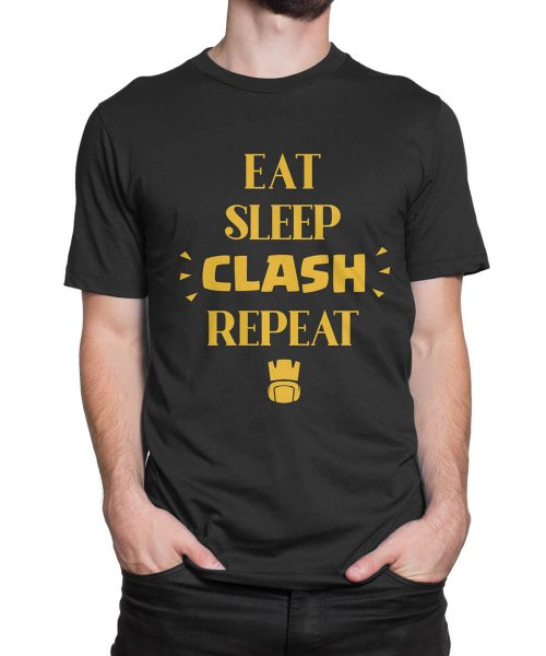 Eat-Sleep-Clash-Repeat-tshirt