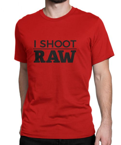 I-shoot-raw-tshirt