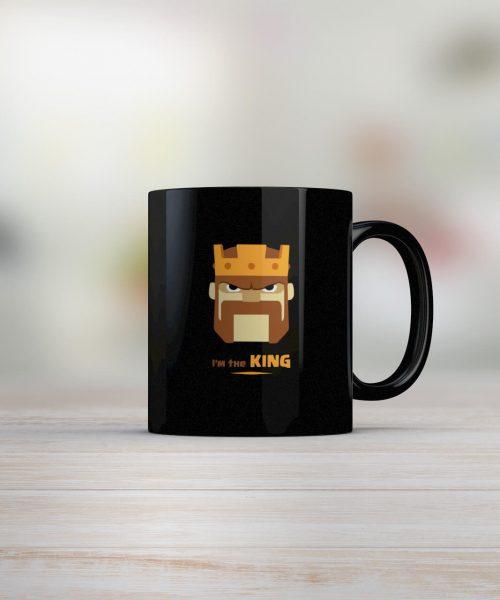 Im-The-king-Clash-Of-Clans-Coffee-Mug