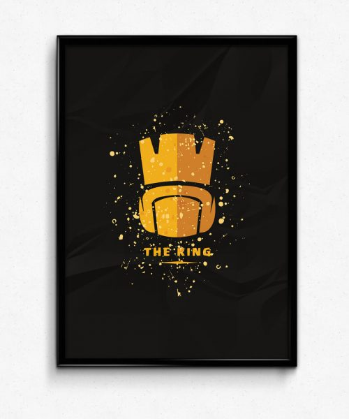 The King Clash Of Clans Wall art
