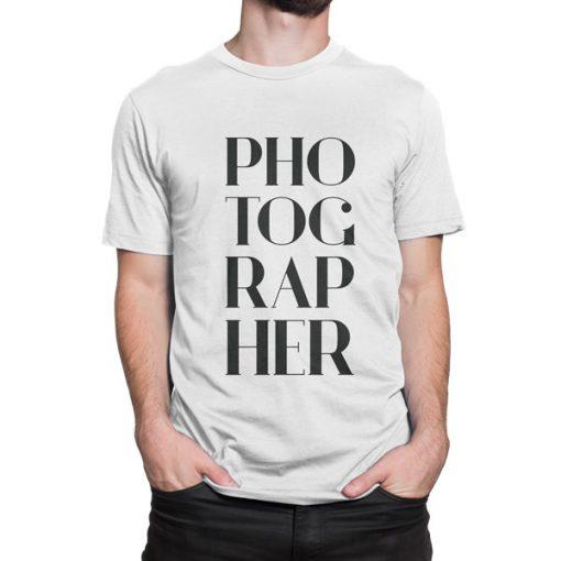 Photographer-tshirt-White-Photography-Tshirt